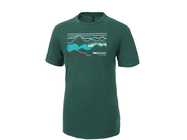 Wild Country Stamina T-shirt Homme, alloro liner